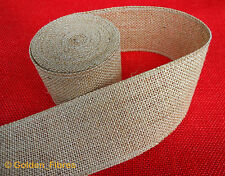 Natural Jute Hessian Burlap Ribbon Rustic Weddings Belting Strap Craft Floristry