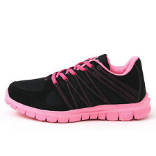 New Black Pink Premium Fashionable Athlectic Running Training Womens Shoes