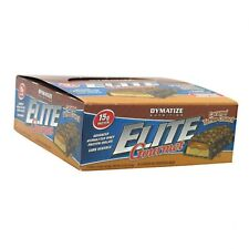 DYMATIZE NUTRITION Elite Gourmet Protein Bar - Snack-Size in 3 flavors pack of 6