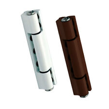 X3 UPVC Door Butt Hinge. Available in Flat & Angled, White & Brown. 115mm Hinge