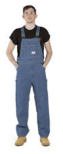 Roundhouse Stonewashed Classic Blues Bib Overalls Lot699 Mens Overalls