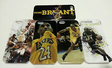 KOBE BRYANT iPHONE 5 SAMSUNG GALAXY S4 S3 CELL PHONE CASE LAKERS LOS ANGELES NBA