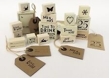 EAST OF INDIA RUBBER STAMP CHRISTMAS WEDDING FAVOURS CARD MAKING GIFT WRAPPING