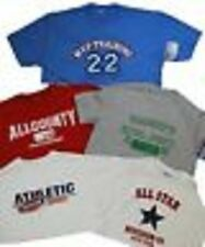 Jerzees Men's 100% Cotton Casual T-Shirts  -  Assorted Styles & Sizes