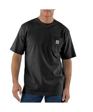CARHARTT K87 MENS WORKWEAR T-SHIRT WITH POCKET VARIOUS COLORS & SIZES