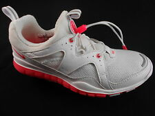 NIKE HUARACHE LIGHT 2011 WOMEN'S WHITE/PINK SHOES SZ.7, 10, #434225-101