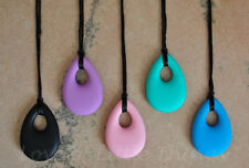 Milk Drop Pendant Silicone Mommy Nursing Teething Necklace for Mom BPA Free