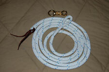 12' LOOPED LEAD ROPE FOR PARELLI TRAINING METHOD, MANY COLORS AVAILABLE!