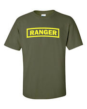 Ranger US Army Military Forces New Airborne Special Forces Mens Tee Shirt443