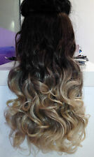 """One Piece Clip In Hair Extensions 20"""" 26"""" THICK like human full head 100%"""