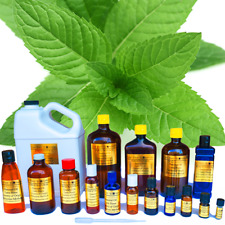 Peppermint Essential Oil  Pure Uncut  Sizes 3ml to 1 Gallon