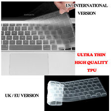 Clear Transparent Silicone Keyboard cover Apple Macbook Air / Pro / Pro Retina