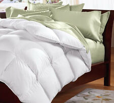 Cuddledown 233 Thread Count White Synthetic Fill Comforter  ALL SIZES
