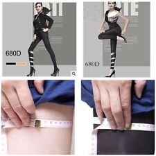 Women Lady Slim Tights 680D Compression Shape Spats Stockings Pantyhose Leggings