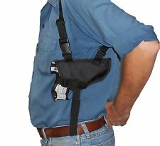 SHOULDER HOLSTER For GLOCK 17L,24,34,35 BERETTA M9,92FS,96A1 (SNATCHPROOF) USA
