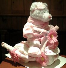 New Baby Boy or Girl Diaper Cake Trike Tricycle Baby Shower Gift Center Piece