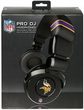 Minnesota Vikings NFL Licensed iHip PRO DJ Headphones With Mic & Volume Control