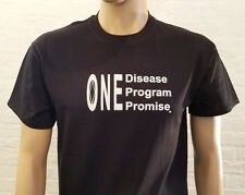 Narcotics Anonymous -  One Disease One Program  T-Shirt  - size S-5X
