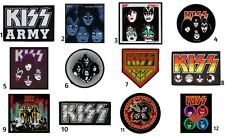 KISS Sew On Patches NEW OFFICIAL. Choice of 12 designs