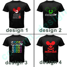 RARE DEADMAU5 t shirt NEW 4 HOT DESIGN DJ DANCE TECHNO DUBSTEP MAN TEE ALL SIZE