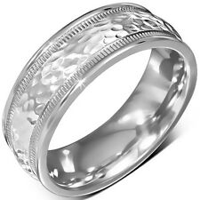 Stainless Steel Spinning or Comfort Band Ring. Choose your design and size.