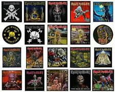 Iron Maiden Sew On Patch/Patches NEW OFFICIAL. Choice of 20 Designs
