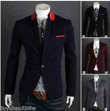 Male Korean version of the new leisure suit men's suits one button