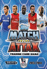 Match Attax 2013 14 Individual Chelsea Crystal Palace Everton Base Cards 13 2014
