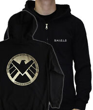 S.H.I.E.L.D HOODIE - PULLOVER & ZIPPED avengers shield fury agent comic marvel
