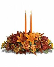 Family Gathering Centerpiece. Fall. Fresh flower Delivery by Florist