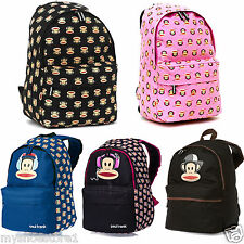 PAUL FRANK CHEEKY MONKEY OFFICIAL BACKPACK RUCKSACK SCHOOL COLLEGE TRAVEL BAG
