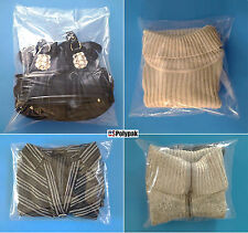 """25 1000 pcs 10x12"""" Clear Poly Bags Packaging Clothing T Shirts Polybags Plastic"""