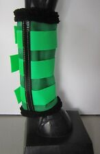Horse Fly Mesh Boots Set of 4 Emerald green Australian Made Summer Protection