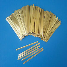 "Cello & Poly Bag TWIST TIES 4 - 6"" Gold White Red 25 50 100 200 500 1000"