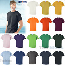 JERZEES Mens HiDENSI-T T-Shirt With TearAway Label Cotton Shirt S-5XL  363MR-363
