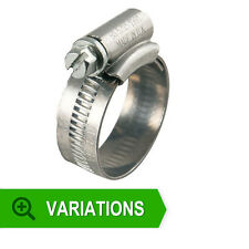 Genuine Jubilee Zinc Plated Hose Clips - Pipe Clamps