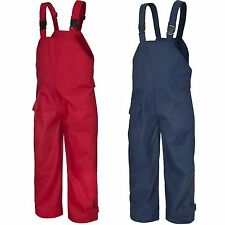 BRAND NEW KIDS WATERPROOF DUNGAREES RAIN OVER TROUSERS BOY OR GIRL 12m to 1Oyrs