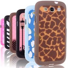 For Samsung Galaxy S3 III I9300 Pattern Romantic Hard Cover Phone Case Skins