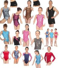 GYMNASTICS LEOTARD / LEOTARDS ZONE HIPSTERS SHORTS  AGES  2 - 15+     FROM £9.95