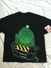 GhostBusters Logo Ghost Trap Proton Pack Glow in the Dark Vintage Movie T Shirt