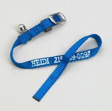 Cat Safety Nylon Pet Leash Personalized Embroidered Choose From Many Colors