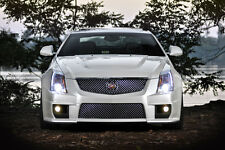 Cadillac White CTS-V Sport Coupe CTSV HD Poster Print multiple sizes available