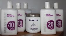 Pravana Creme DEVELOPER or Pravana Pure Light Power LIGHTENER YOUR CHOICE