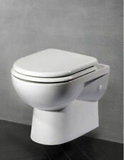Compact Wall Hung Toilet Bathroom Cloakroom En Suite Short Projection WC WH Pan