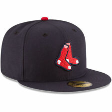 New Era 59FIFTY BOSTON RED SOX Alternate MLB Baseball Cap fitted 5950 Hat Navy