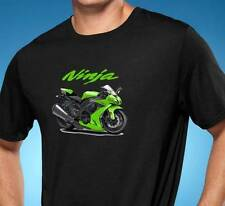 Ninja Street Bike Cartoon Tshirt NEW FREE SHIPPING