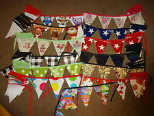5 METRES OF PVC VINYL BUNTING   WITH APP 30  FLAGS THATS OVER 16 FOOT