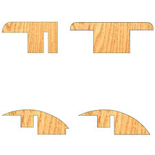 Solid Oak Flooring Trims - Choose End Trim, Ramp, Semi Ramp, Joining Section 1m
