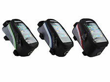 ROSWHEEL Cycling Bicycle Bike Frame Front Tube Bag For Cell Phone Waterproof YES
