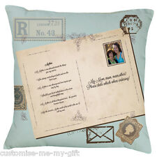 Mother Poem Cushion | Your text | Postcard | Christmas | Birthday | Mothers Day